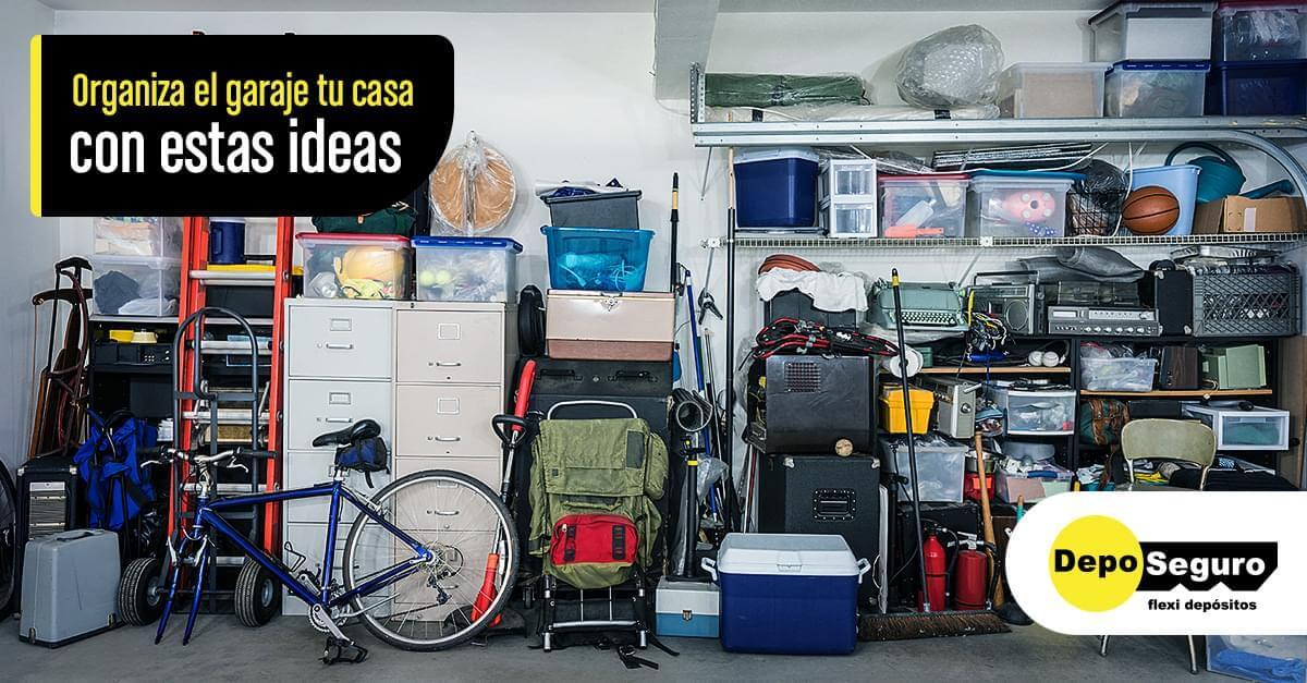 Ideas para organizar el garaje de tu casa