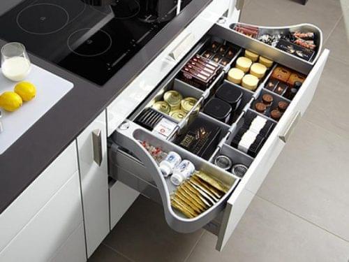 Compartimentos para cocina