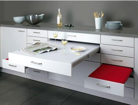 muebles cocina convertibles