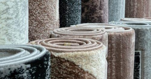 almacenar alfombra