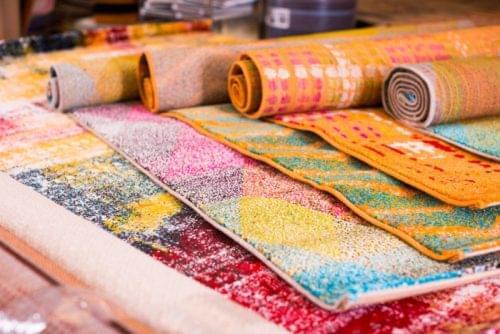 guardar alfombras en deposito