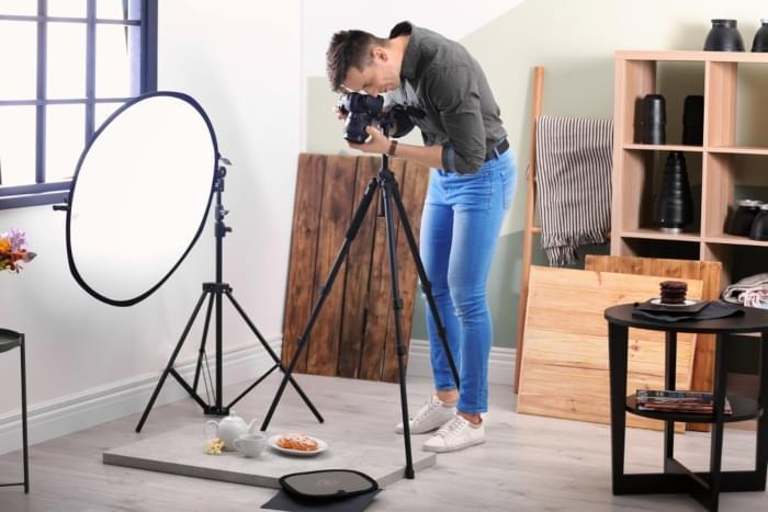 ¿Cómo hacer un estudio fotográfico en casa?