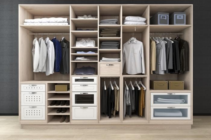 Ideas para organizar un armario de manera rápida